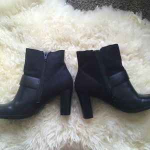 BareTraps Shoes - Worn Once Real Leather Ankle Boots Bare Traps Boot